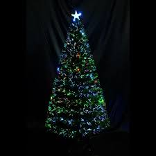 6ft Christmas Tree Fibre Optic by 6ft Christmas Tree Scattered Light Artificial Fiber Optic Pre Lit