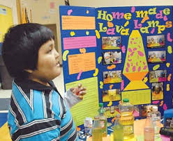 Lava Lamps Glowing Water Rocket Power Among Projects At Chooshgai School Science Fair