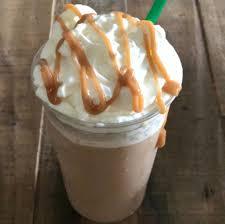 Starbucks Copycat Caramel Frappuccino