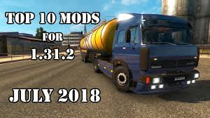 TOP 10 MODS For 1.31.2 (JULY 2018) – Euro Truck Simulator 2 | Euro ...