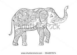 Pin Asian Elephant Clipart Coloring 11