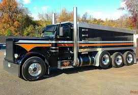 100 Peterbilt Tri Axle Dump Trucks For Sale Custom 379 Tri Axle Dump 18 Wheels A Dozen Roses