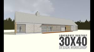 100 Modern Dogtrot House Plans Longhouse Design