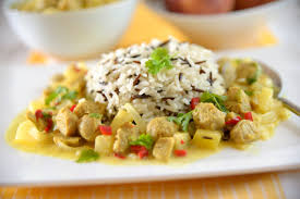 tofu au curry et au lait de coco façon bébé au naturel