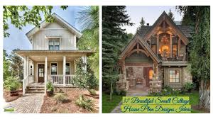 100 Small Beautiful Houses 37 Cottage House Plan Designs Ideas Gurudecorcom