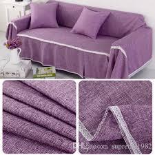 großhandel 1 2 3 4 sitzer verdicken sofa schonbezug bezug wohnzimmer sofa schützen handtuch deko lila supreme1982 13 42 auf de dhgate