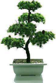 de künstliche bonsai baum pflanze für büro zuhause