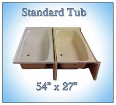 54 x 27 bathtub with surround bath tubs and showers for mobile home manufactured housing