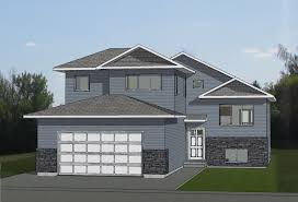 100 Bi Level Houses 3D RENDERINGS Modified Home With Sideentry