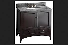 Foremost Bathroom Vanity Cabinets by Foremost Beca3621d Berkshire 36 Inch Espresso Bathroom Vanity