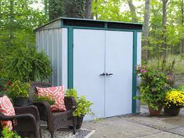 Rubbermaid Tool Shed Instructions by Arrow Eurolite 6 Ft 10 In W X 4 Ft 3 In D Metal Tool Shed