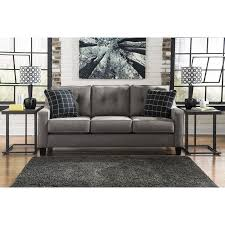 Levon Charcoal Sofa And Loveseat by Sofas