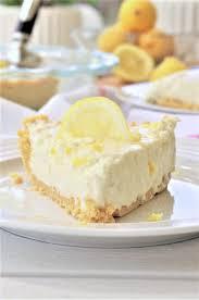 easy no bake dessert recipes no bake lemon oreo crust lemon cheesecake icebox pie easy dessert