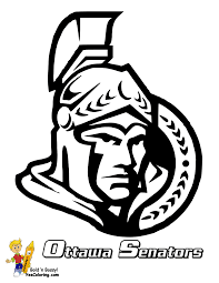 Printable Blackhawks Pumpkin Stencil by Stone Cold Hockey Coloring Nhl Hockey East Hockey Free