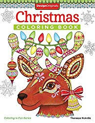 12 Christmas Coloring Book Is Fun By Thaneeya McArdle