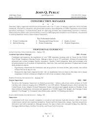 Quality Control Sample Resume