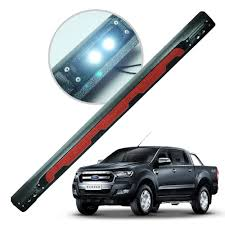 Rear Door Tailgate LED Cap Cover Trim Black 1 Pc For Ford Ranger ... Ford Ranger Cap Clamps Best Truck Resource Why Fords New 2019 Pickup Has Big Potential The Motley Fool 982011 Gas Chrome Stainless Steel Fuel Cover 2018 F150 Raptor Model Hlights Fordca Used Caps And Automotive Accsories Revealed Drive Double Cab Carryboy Series 6 Top 4x4 Trailer Custom Built 4x4 Pickup 062011 Review Carbuyer Are Fiberglass Mx Aremx Heavy Hauler Trailers