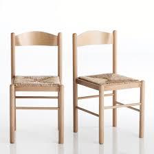 chaise jeanne chaise hêtre massif lot de 2 jeanne la redoute shopping prix