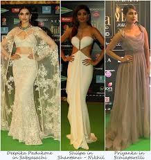 Celebrity StylePriyanka Choprashilpa Shettydeepika Padukonehuma QureshiIIFA
