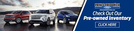 Ford Dealer In Prince Frederick, MD   Used Cars Prince Frederick ...