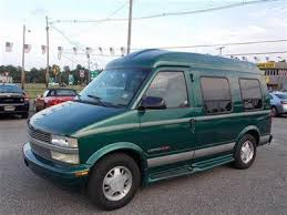 2000 CHEVROLET ASTRO HIGH TOP CONVERSION VAN AWD SANTA FE RUNS WELL US 597500