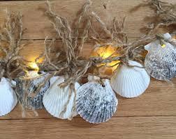 Seashell Christmas Tree Garland by Sea Shell Garland Etsy