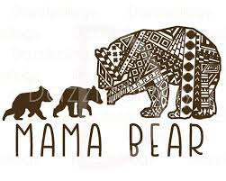 Grizzly Bear Clipart Mother 11