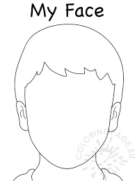 Face Blank Boy Template
