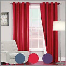 window lined curtains ebay