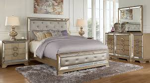 Rooms To Go Queen Bedroom Sets by Driskill Place Silver 5 Pc Queen Bedroom Queen Bedroom Sets Colors