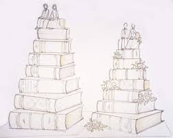 Personalised Wedding Cake Sketch