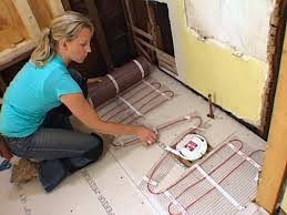 how to install a radiant heat system underneath flooring radiant