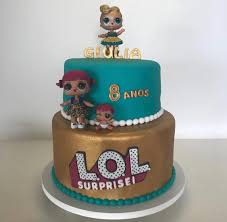 LOL Surprise Dolls Birthday Cake Colors Are Inspired By LUXE And Is On