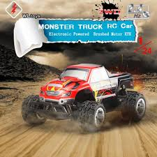 Multi Player Model Toy L 343 1/24 RC Monster Truck Car Electric 25KM ... Custom Monster Jam Bodies Multi Player Model Toy L 343 124 Rc Truck Car Electric 25km Gizmo Toy Ibot Remote Control Off Road Racing Alive And Well Truck Stop Vaterra Halix Rtr Brushless 110 4wd Vtr003 Cars 2016 Year Of The Volcano S30 Scale Nitro 112 24g High Speed Original Wltoys L343 Brushed 2wd Everybodys Scalin For Weekend Trigger King Mud