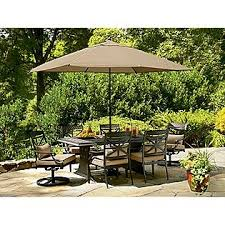 Sears Rectangular Patio Umbrella by 97 Best Patio Furniture Images On Pinterest Toss Pillows Tossed