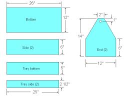 tool box plans blueprints plans diy free download make wood desk