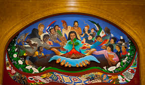 Denver International Airport Murals Painted Over by The Multicultural Murals Wisconsin Union