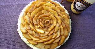 apfel nuss torte mit verpoorten mascarpone creme
