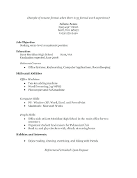 Resume Templates For High School Graduates Great Good Students Template
