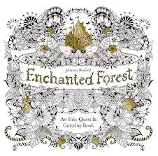 Secret Gardens Enchanted Forest An Inky Quest Coloring Book