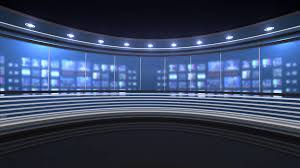 Empty Studio Background Stock Video Footage