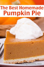 Solid Pack Pumpkin Pie Recipe by 16 Of The Best Pumpkin Recipes Living On A Dime