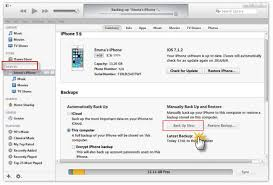 Different methods to backup iPhone