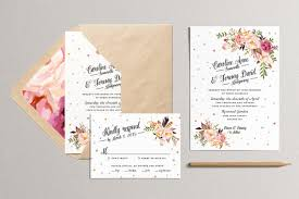 Printable Wedding Invitation And RSVP Card