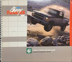 100 1988 Chevy Truck For Sale Chevrolet S Training Dealer Album Original