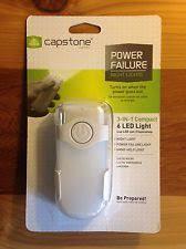 3 pk capstone lighting 2 in 1 wall plate led light power