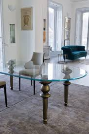100 Designer High End Dining Chairs Italian Oval Glass Table Furniture Pinterest