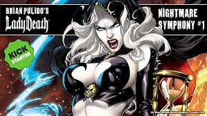 Greetings FIENDS The Lady Death