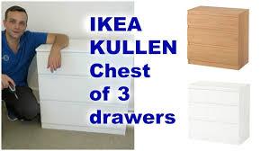Ikea Kullen 5 Drawer Dresser by Ikea Kullen Chest Of Drawers Assembly Youtube