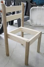 diy modern rustic outdoor chair gray table home hand built